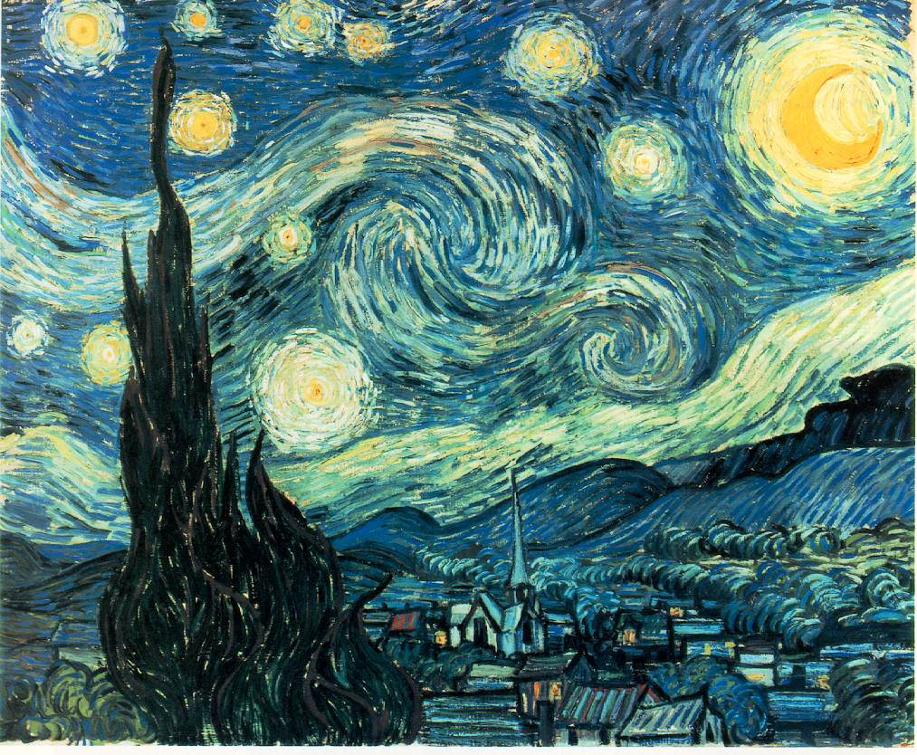The Starry Night | K. A. S. Art Gossip!